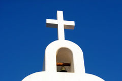 Playa del Carmen church. Church in Playa del Carmen, Quintana Roo, Mexico Royalty Free Stock Images