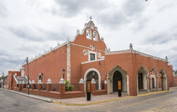 Playa del Carmen church in Valladolid, Mexico Royalty Free Stock Photography