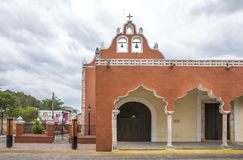 Playa del Carmen church in Valladolid, Mexico. Old playa del Carmen church in Valladolid, Mexico Stock Photography