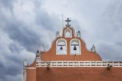 Playa del Carmen church in Valladolid, Mexico Stock Images