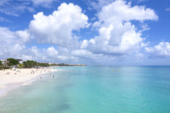 Playa del Carmen vacation Royalty Free Stock Photo