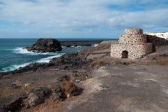 Playa del Castillo, Fuerteventura Royalty Free Stock Photography