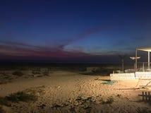 Playa del chica de Playa fotografía de archivo