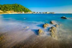 Playa del coral de Hayama fotos de archivo