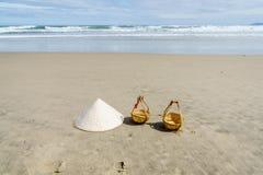 Playa del Da Nang, Vietnam Imágenes de archivo libres de regalías