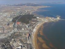Playa del  del ¼ del cityï de Xingcheng Fotos de archivo
