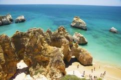 Playa del DOS Tres Irmaos del Praia de tres hermanos imagen de archivo libre de regalías