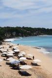 Playa del Dreamland Imágenes de archivo libres de regalías
