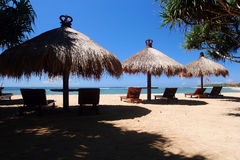 Playa del DUA de Nusa Fotografía de archivo