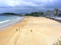 Playa del EL Sardinero Fotos de archivo libres de regalías