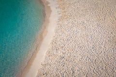 Playa del en Turqueta Turqueta de Cala en Menorca, España imágenes de archivo libres de regalías