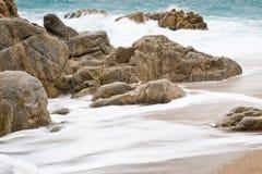 Playa del este áspera Foto de archivo libre de regalías