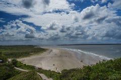 Playa del faro Imagenes de archivo