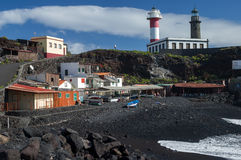 Playa del Faro in Fuencaliente, La Palma Royalty Free Stock Photo