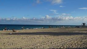 Playa del Fort Lauderdale en la Florida Imagen de archivo libre de regalías