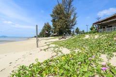 Playa del grood de Baan, Prachuap Khiri Khan, Tailandia Foto de archivo libre de regalías
