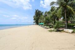 Playa del grood de Baan, Prachuap Khiri Khan, Tailandia Fotos de archivo libres de regalías