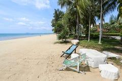 Playa del grood de Baan, Prachuap Khiri Khan, Tailandia Fotografía de archivo libre de regalías