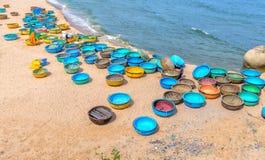 Playa del hijo de Ganh en tarde soleada Fotografía de archivo libre de regalías