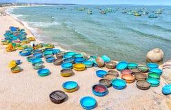 Playa del hijo de Ganh en tarde soleada Fotografía de archivo