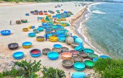 Playa del hijo de Ganh en tarde soleada Imagenes de archivo