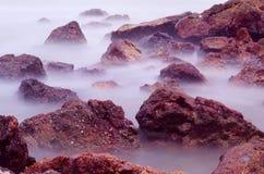 Playa del hijo de Suan, Rayong, Tailandia Foto de archivo libre de regalías