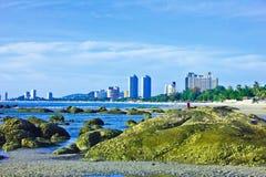 Playa del hin de Hua Imagen de archivo libre de regalías