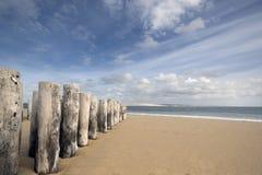 Playa del hurón del casquillo en Francia Imagenes de archivo