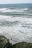 Playa del huracán Fotografía de archivo