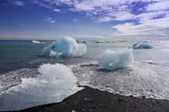 Playa del iceberg Fotos de archivo libres de regalías