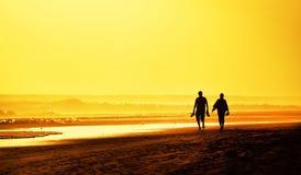 Playa del Ingles dans mamie Canaria, Espagne Photos libres de droits