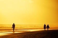 Playa del Ingles dans mamie Canaria, Espagne Photographie stock