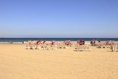 Playa del Ingles em Gran Canaria Fotografia de Stock