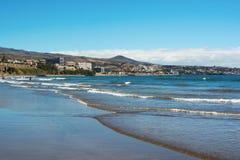 Playa del Ingles, Gran Canaria Arkivfoton