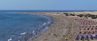 Playa del Ingles - Gran Canaria Stock Photo