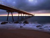 Playa del la del en de Amanecer Fotos de archivo libres de regalías