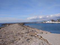 Playa del lado de Antalya Foto de archivo