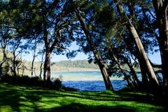 Playa del lago - lago smiths imagen de archivo libre de regalías