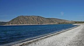 Playa del lago Salda Fotografía de archivo libre de regalías