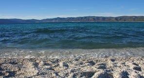 Playa del lago Salda Fotos de archivo