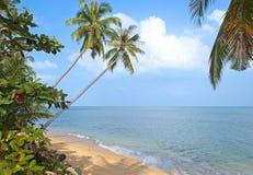 Playa del LAN del Na de BanTai Laem Imágenes de archivo libres de regalías