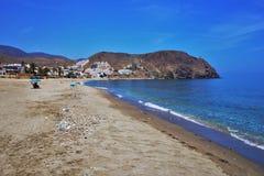 Playa del Lancon de Carboneras Almeria Andalusia Spain imágenes de archivo libres de regalías