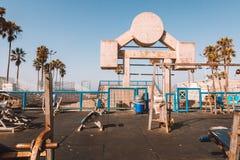 Playa del músculo en Los Ángeles Imagen de archivo