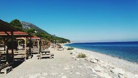 Playa del mar Fotos de archivo