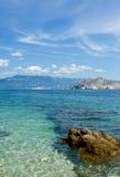 Playa del mar adriático Fotos de archivo libres de regalías