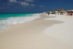 Playa del mar del Caribe. Cuba Fotos de archivo
