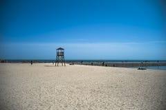 Playa del mar en Qingdao, China Fotografía de archivo