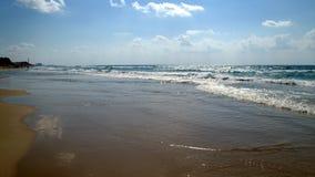 Playa del mar en verano fotos de archivo libres de regalías