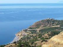 Playa del Mar Negro Imágenes de archivo libres de regalías
