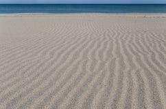 Playa del Mar Negro en Bulgaria Fotografía de archivo libre de regalías
